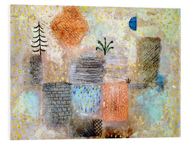 Forex  Park with the cool half-moon - Paul Klee