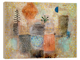 Paul Klee - Park with the cool half-moon