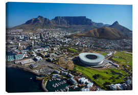 Toile  Cape Town Stadium and Table Mountain - David Wall