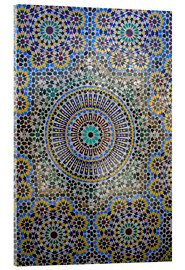 Verre acrylique  Mosaic wall for fountain - Kymri Wilt