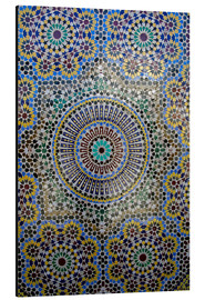 Alu-Dibond  Mosaic wall for fountain - Kymri Wilt