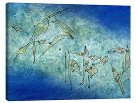 Toile  Fish image - Paul Klee