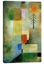 Toile  Small pine image - Paul Klee