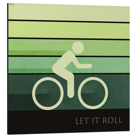 Tableau en aluminium  Let It Roll - Phil Perkins