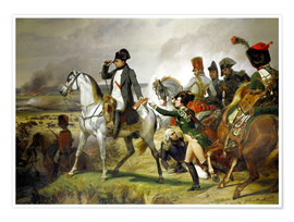 Poster Napoleon Bonaparte, Battle of Wagram 06 July 1809th