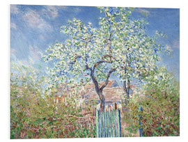 Forex  The gates in Vetheuil - Claude Monet