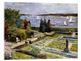 Tableau en verre acrylique  The Arnholds' Wannsee garden - Max Liebermann