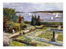 Poster  The Arnholds' Wannsee garden - Max Liebermann