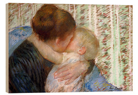 Bois  The Goodnight Kiss - Mary Stevenson Cassatt