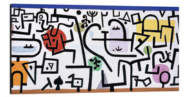 Tableau en aluminium  Rich Harbour - Paul Klee