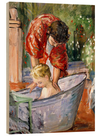 Bois  The Bath (Le Bain) - Henri Lebasque