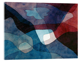 Verre acrylique  Mountain and Air Synthetic - Paul Klee