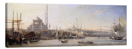 Tableau sur toile  The Golden Horn, Suleymaniye Mosque and Fatih Mosque - Antoine Léon Morel-Fatio