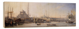 Bois  The Golden Horn, Suleymaniye Mosque and Fatih Mosque - Antoine Léon Morel-Fatio