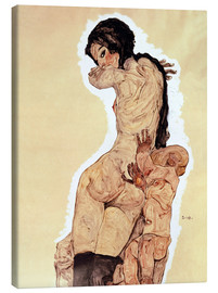 Tableau sur toile  Mother and Child - Egon Schiele