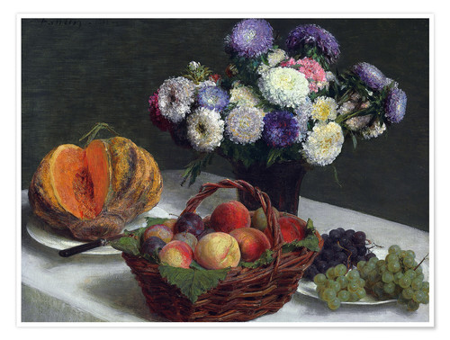 Poster Flowers & Fruits