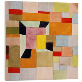 Bois  Split color squares - Paul Klee