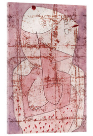 Tableau en verre acrylique  Swiss clown - Paul Klee