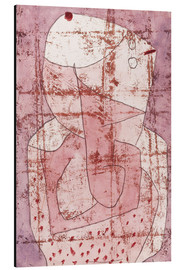 Tableau en aluminium  Swiss clown - Paul Klee