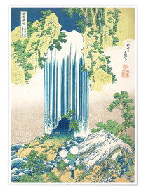 Katsushika Hokusai - The Yoro waterfall in Mino Province