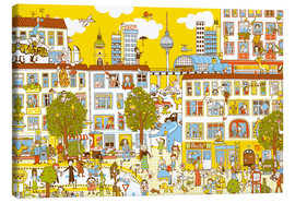 Toile  Berlin Search and Find by Judith Drews - Judith Drews
