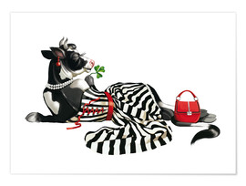 Poster glamour cow 2