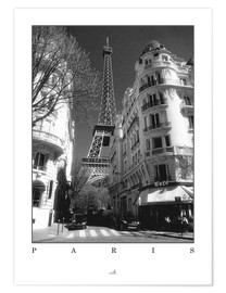 Poster  Paris - ARTSHOT - Photographic Art