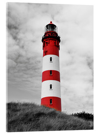 Verre acrylique  Phare d'Amrum, mer du Nord, Allemagne - HADYPHOTO by Hady Khandani