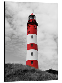 Tableau en aluminium  Phare d'Amrum, mer du Nord, Allemagne - HADYPHOTO by Hady Khandani