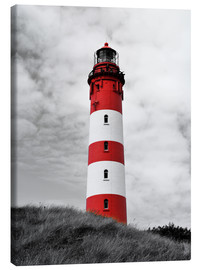 Tableau sur toile  Phare d'Amrum, mer du Nord, Allemagne - HADYPHOTO