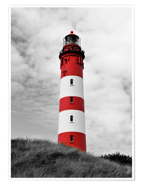 Poster  Phare d'Amrum, mer du Nord, Allemagne - HADYPHOTO by Hady Khandani