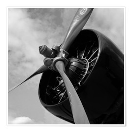 Poster  Junkers JU52 - HADYPHOTO