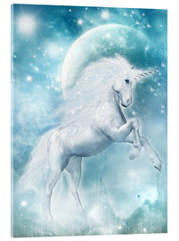 Verre acrylique  Unicorn on my way - Dolphins DreamDesign
