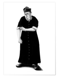 Poster  Don Camillo ready to rumble - Stefan Kahlhammer