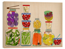 Bois  Bottled pickles and fruits - Elisandra Sevenstar
