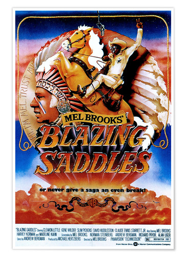 Poster BLAZING SADDLES