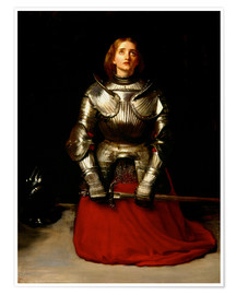 Poster  Joan of Arc - Sir John Everett Millais