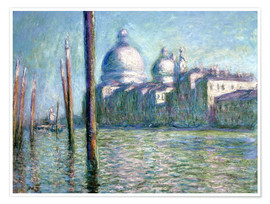 Poster Le Grand canal