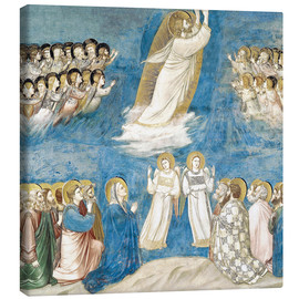 Tableau sur toile  The Ascension of Christ - Giotto di Bondone
