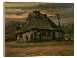 Bois  Farmhouse - Vincent van Gogh
