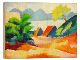 Bois  Au lac de Thoune I - August Macke