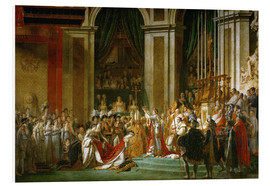 Tableau en PVC  Le Sacre de Napoléon - Jacques-Louis David