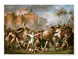 Poster  Les Sabines - Jacques-Louis David
