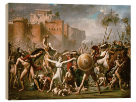 Bois  Les Sabines - Jacques-Louis David