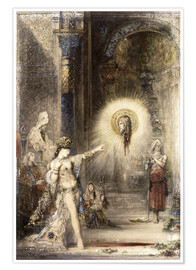 Poster  L'Apparition - Gustave Moreau