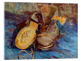 Verre acrylique  The Shoes - Vincent van Gogh