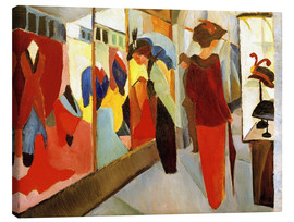 Toile  Magasin de mode - August Macke