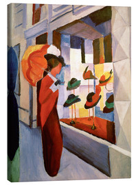 Toile  La Chapellerie - August Macke