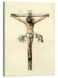 Tableau sur toile  Christ on Cross - Albrecht Dürer