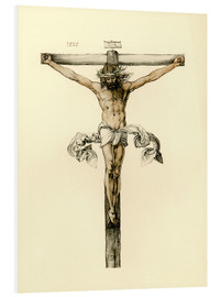 Tableau en PVC  Christ on Cross - Albrecht Dürer